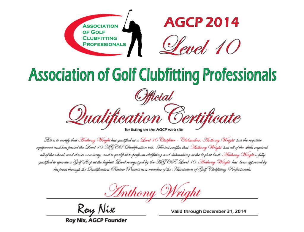 AGCP Level 10