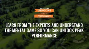 "Golf Science Lab ""Unlocking Performance"" Virtual Summit"