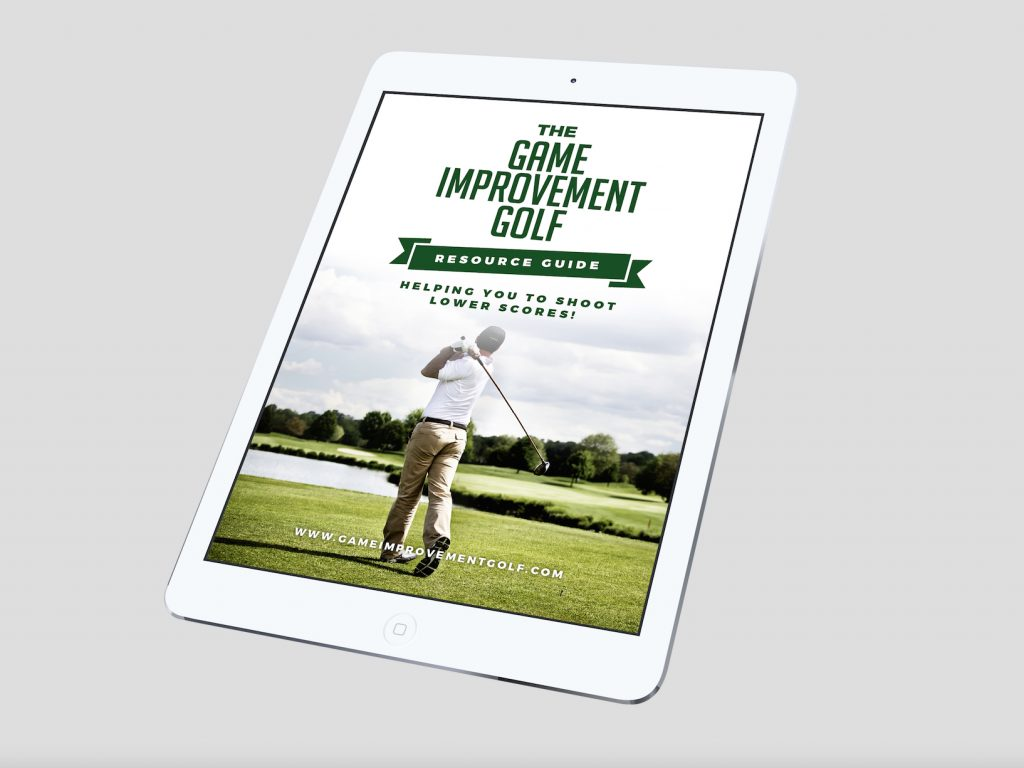Game Improvement Golf Resource Guide