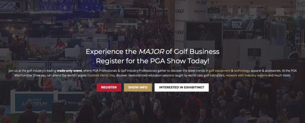 2019 PGA Equipment Show