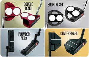 Putter Hosel Designs