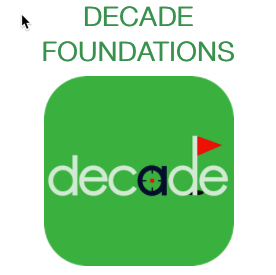 DECADE FOUNDATIONS Learning Opportunity